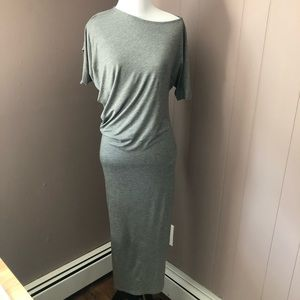 NWT H&M Grey Maxi Dress